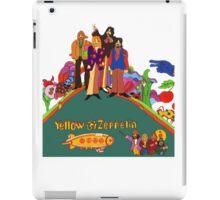 Yellow Zeppelin Submarine T-Shirt iPad Case/Skin