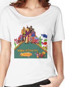 Yellow Zeppelin Submarine T-Shirt Women's Relaxed Fit T-Shirt