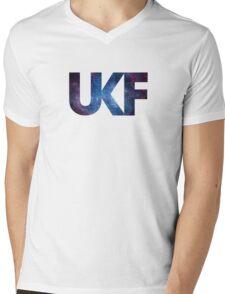 UKF - Galaxy Mens V-Neck T-Shirt