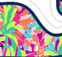 Colorful Whale Sticker