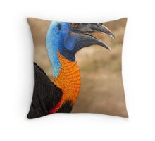 Bird of Papua Throw Pillow