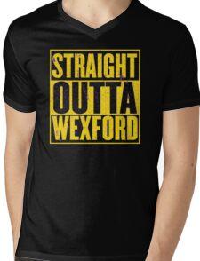 Straight Outta Wexford Mens V-Neck T-Shirt