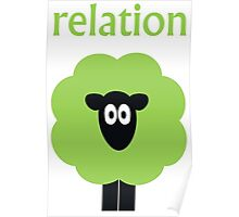 Relation (Shaun The) Sheep Poster
