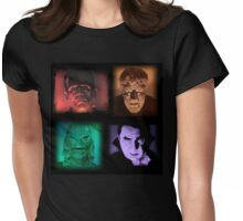 fearsome foursome Womens Fitted T-Shirt