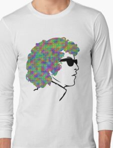 Psychedelic Bob Dylan T-Shirt Long Sleeve T-Shirt