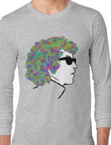 Psychedelic Bob Dylan T-Shirt Long Sleeve T-Shirt