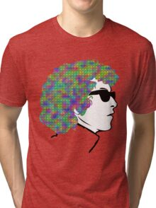 Psychedelic Bob Dylan T-Shirt Tri-blend T-Shirt