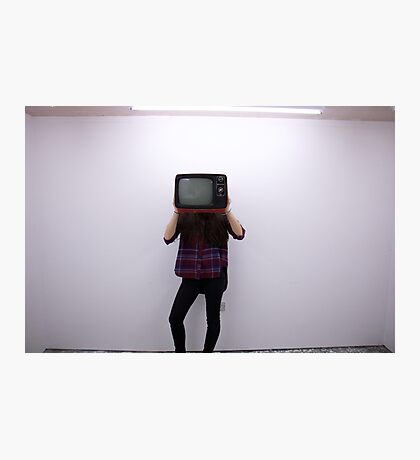 Who is Behind the Screen Photographic Print