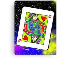 poker card Canvas Print