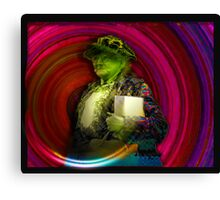 The Mother Jones Time Machine Canvas Print