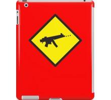 Beware Digital GAMER crossing design iPad Case/Skin