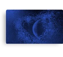 Sister Moon -Abstract  Art + Products Design  Canvas Print