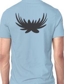 Black wings unusual shape Unisex T-Shirt