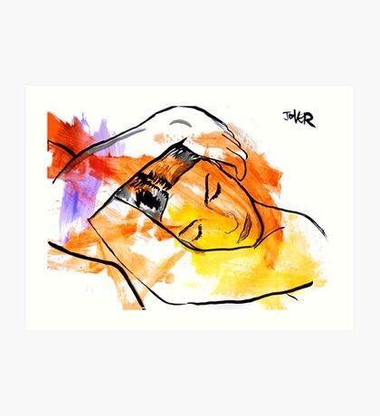 figure after Man Ray Art Print