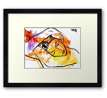 figure after Man Ray Framed Print