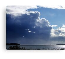 Storm Coming Canvas Print