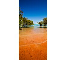 Blue Sky, Red Sand Photographic Print