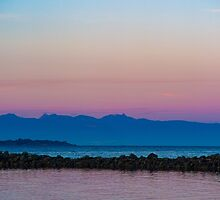 Pink Mountains by Shaynelee