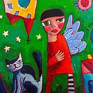 A story to tell by ART PRINTS ONLINE         by artist SARA  CATENA