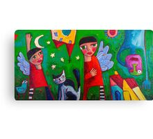 A story to tell Canvas Print
