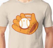 Baseball mit with a baseball star ball Unisex T-Shirt