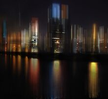 city lights by hannes cmarits