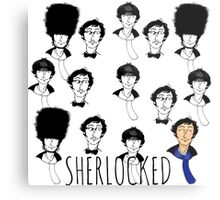 Sherlocked  Metal Print
