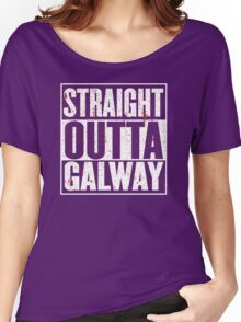 Straight Outta Galway Women's Relaxed Fit T-Shirt