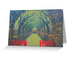 the open gate Greeting Card