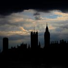 Stormy London by John Dalkin