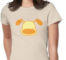 Cutie Doggy puppy Womens Fitted T-Shirt