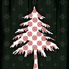 Christmas Tree - CARD  by Sybille Sterk