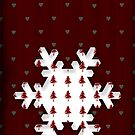 Christmas Snowflake - CARD by Sybille Sterk
