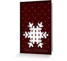 Christmas Snowflake - CARD Greeting Card