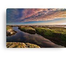 Sunset Reflections at Wreck Beach I Canvas Print