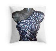 Mussel Girl Throw Pillow
