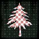 Christmas Tree - PRINT by Sybille Sterk