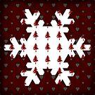 Christmas Snowflake - PRINT by Sybille Sterk