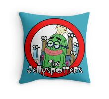 The Jellyspotters Throw Pillow