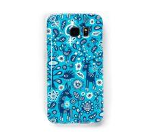 On high Heels Deer in blue Samsung Galaxy Case/Skin