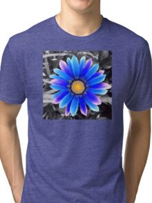 Blue & Yellow, Purple Haze Tri-blend T-Shirt