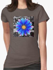 Blue & Yellow, Purple Haze Womens Fitted T-Shirt