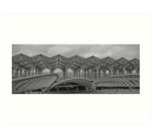 Estacao do Oriente, Lisboa. Art Print