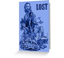 LOST 4 Greeting Card