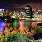 Brisbane City Panorama by Shannon Rogers