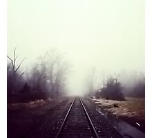 Train Track Addiction Photographic Print