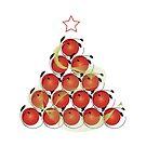 Christmas Tree (6) by catherine barnhoorn