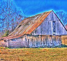 Barn of fall by David Owens