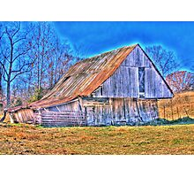Barn of fall Photographic Print