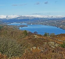 Windermere ...A Winter View by Jamie  Green